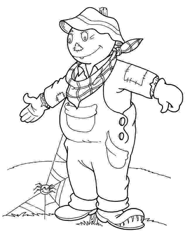 scarecrow coloring page 1000 images about scarecrow crafts on pinterest scarecrow coloring page