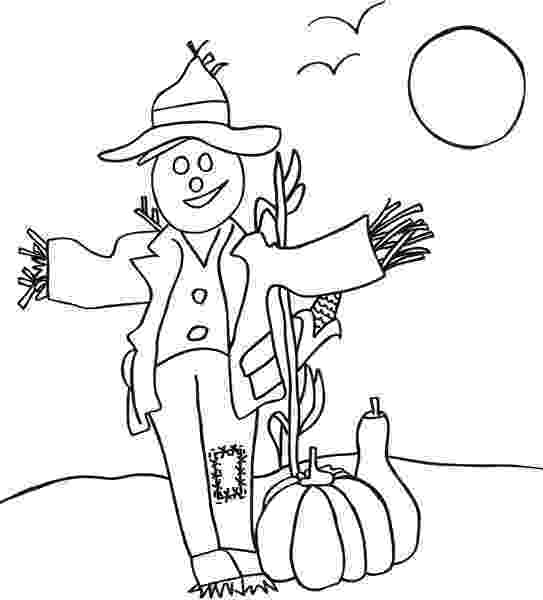 scarecrow coloring page autumn coloring pages to keep the kids busy on a rainy scarecrow page coloring