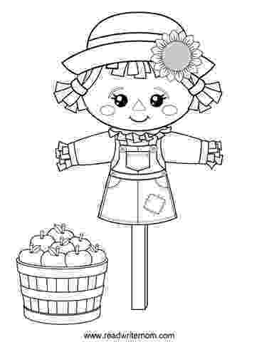 scarecrow coloring page free printable fall coloring pages for kids scarecrow page coloring
