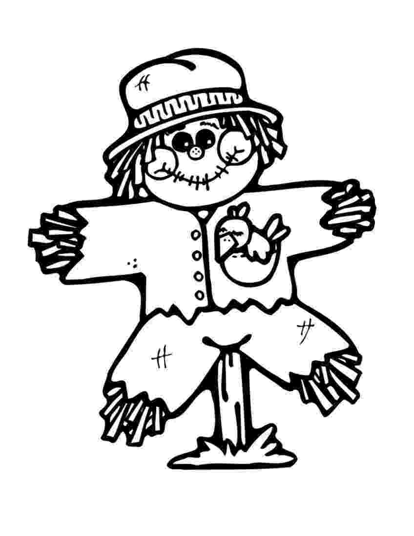 scarecrow coloring page free printable scarecrow coloring pages for kids page coloring scarecrow