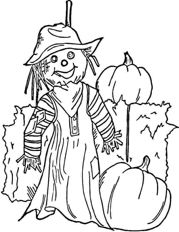scarecrow coloring page free printable scarecrow coloring pages for kids scarecrow page coloring