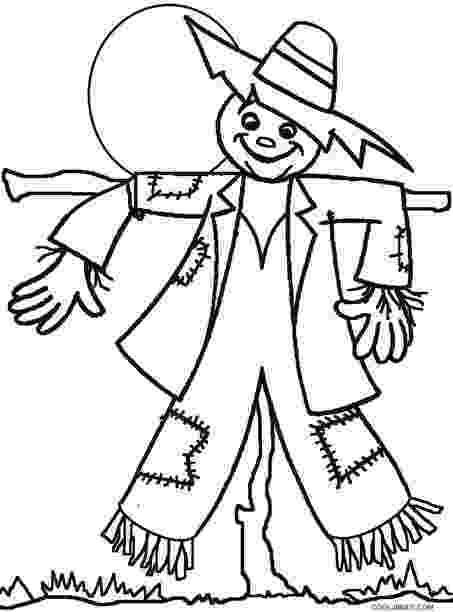 scarecrow coloring page scarecrow coloring pages coloring pages to print coloring scarecrow page