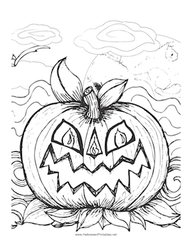 scary pumpkin coloring pages scary halloween ghosts coloring page coloringsnet scary pumpkin pages coloring