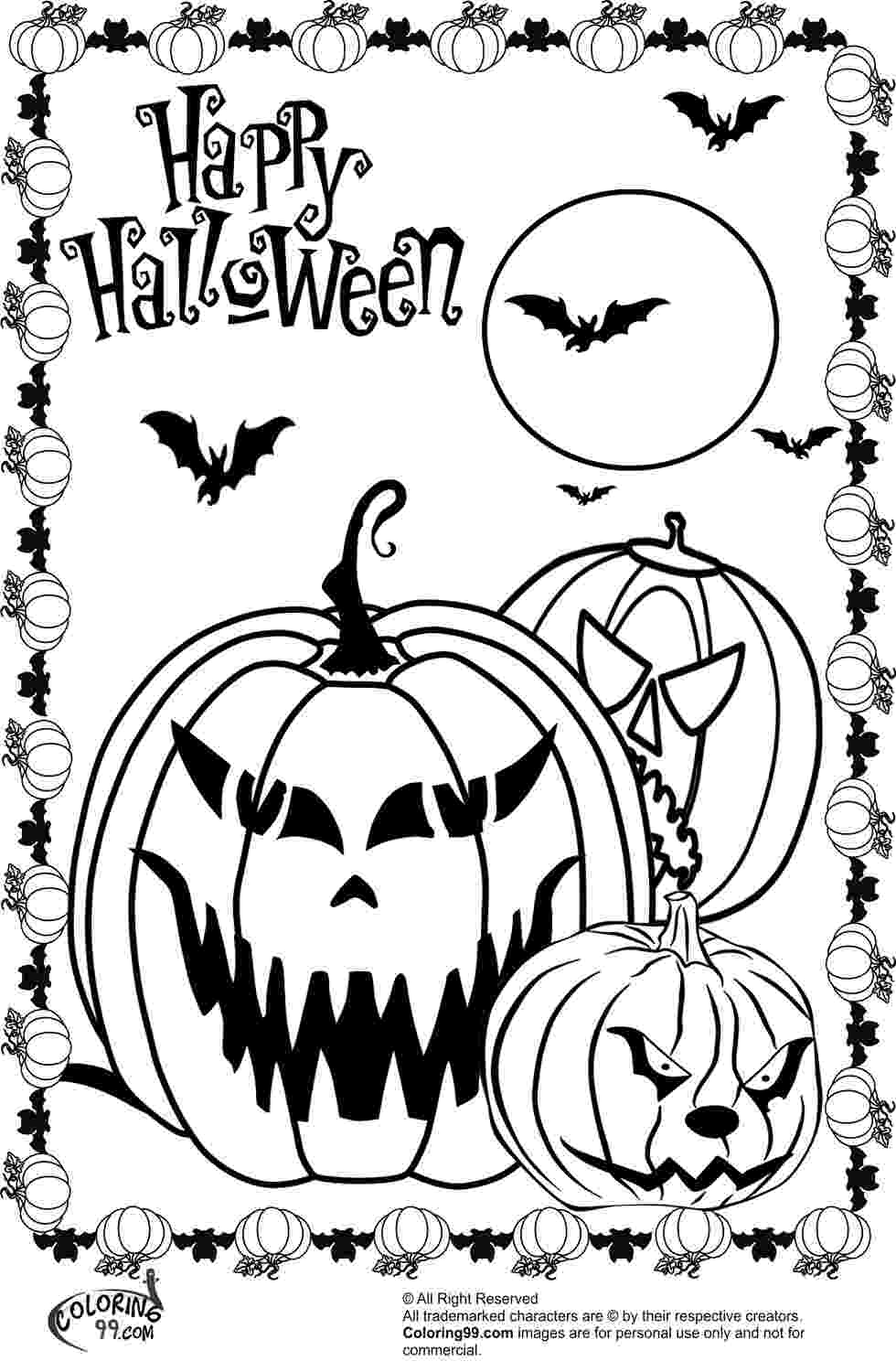 scary pumpkin coloring pages scary halloween pumpkin coloring pages team colors coloring scary pumpkin pages