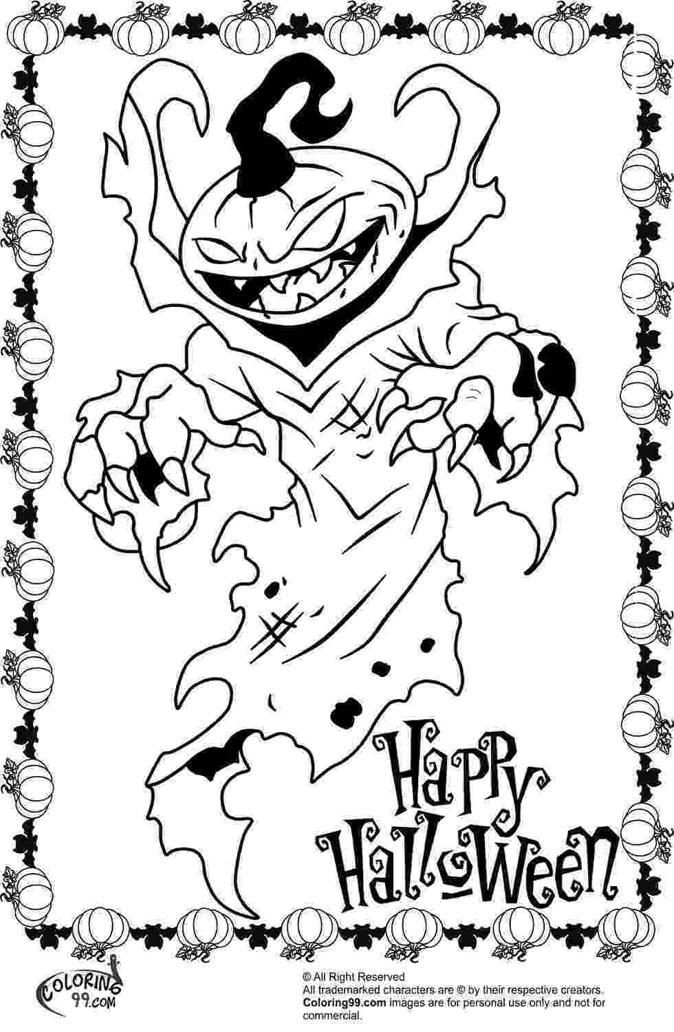 scary pumpkin coloring pages scary halloween pumpkin coloring pages team colors pages pumpkin coloring scary