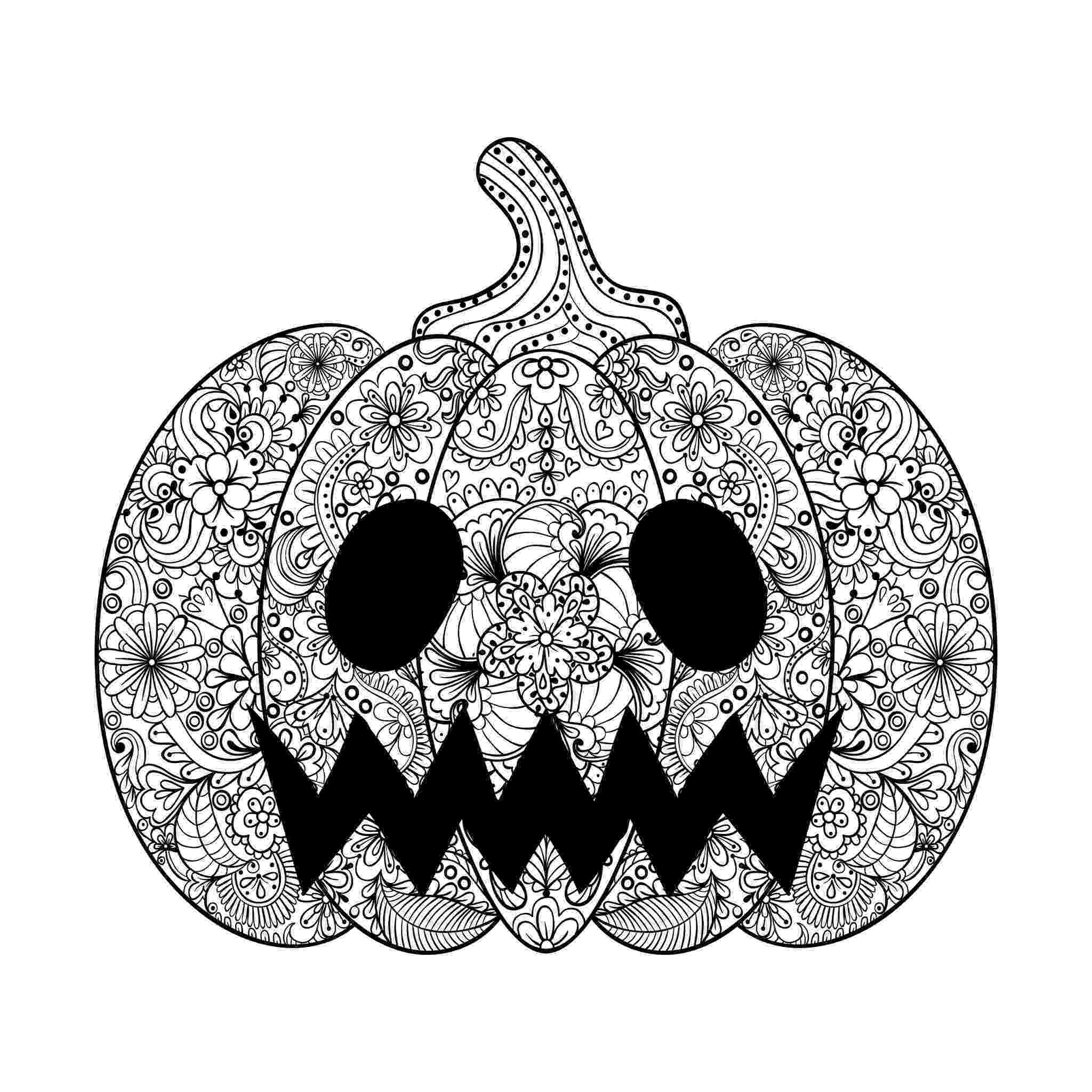 scary pumpkin coloring pages scary halloween pumpkin coloring pages team colors pumpkin pages coloring scary