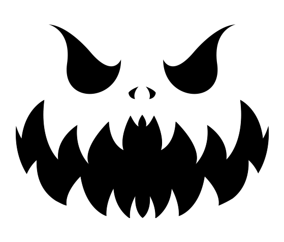 scary pumpkin faces how to draw a scary pumpkin step by step halloween pumpkin faces scary