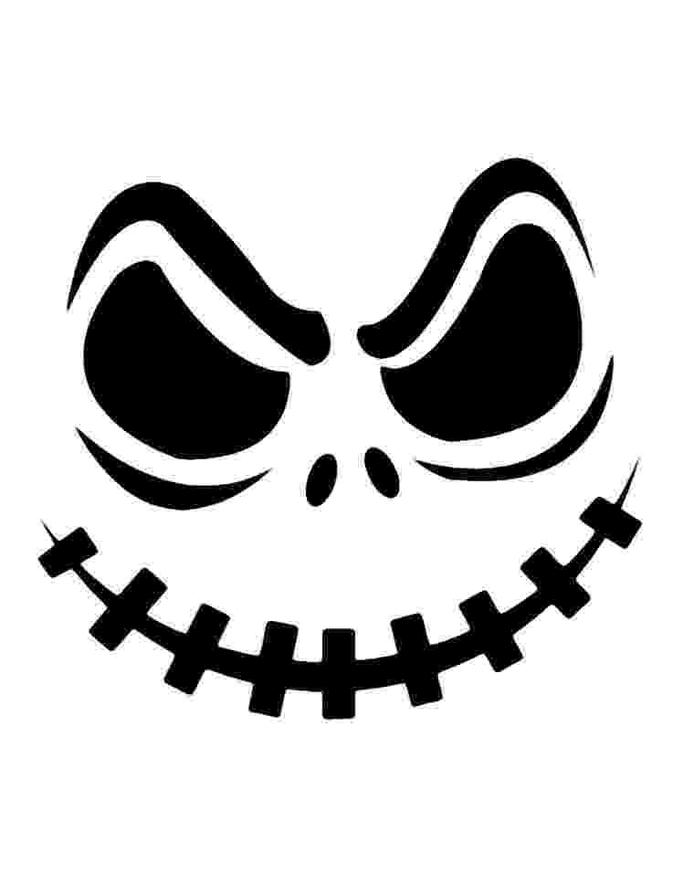 scary pumpkin faces printable pumpkin carving cutouts for halloween scary pumpkin faces