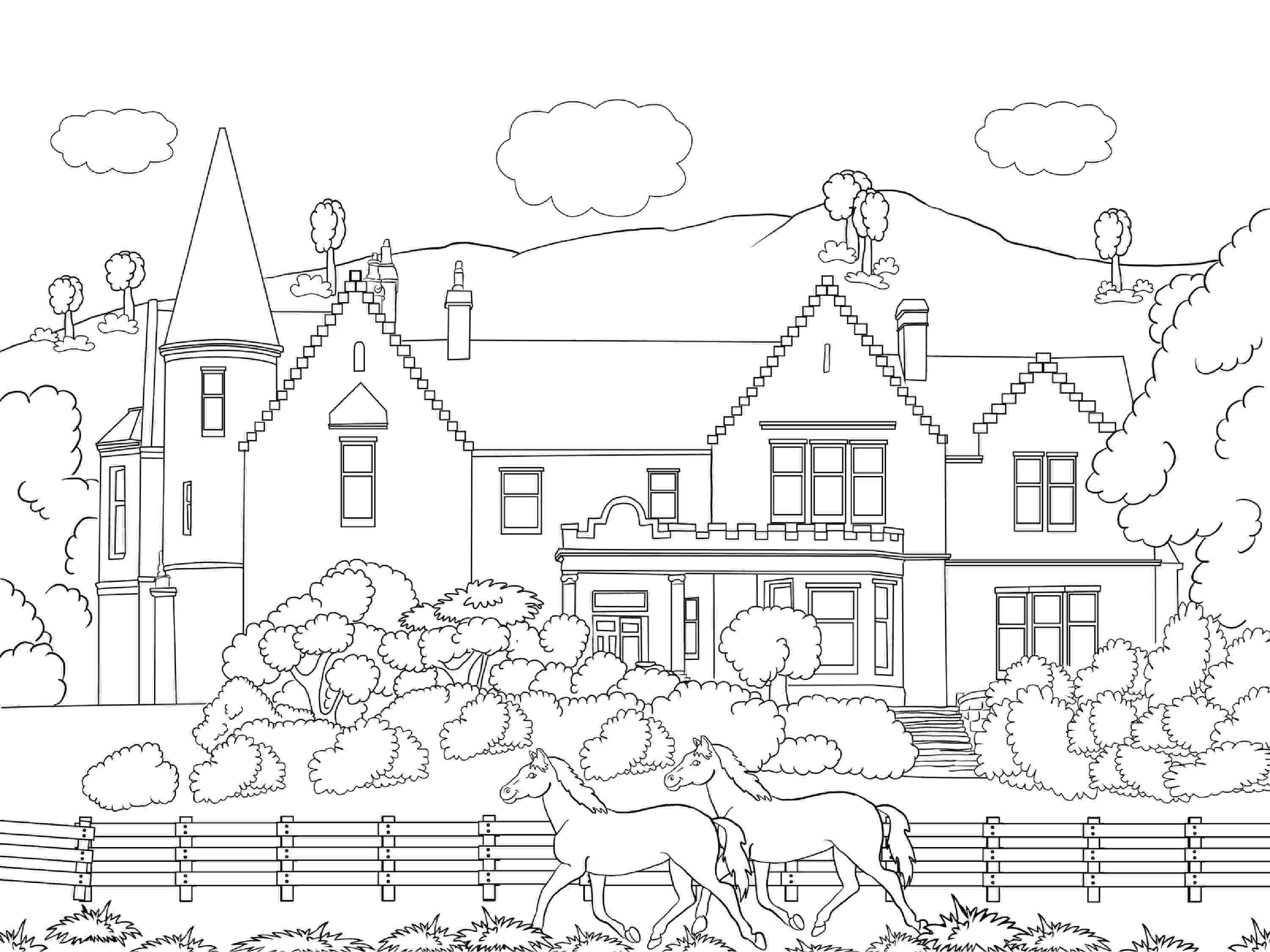 sceneries pictures for colouring beautiful scenery colouring pages in the playroom for sceneries pictures colouring