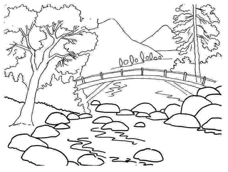 sceneries pictures for colouring free scenery coloring pages to print sceneries pictures for colouring