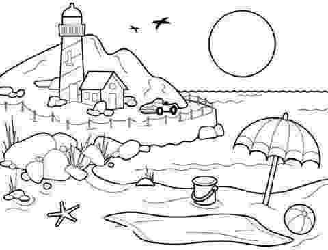 sceneries pictures for colouring mountain scenery coloring pages at getcoloringscom free pictures sceneries for colouring