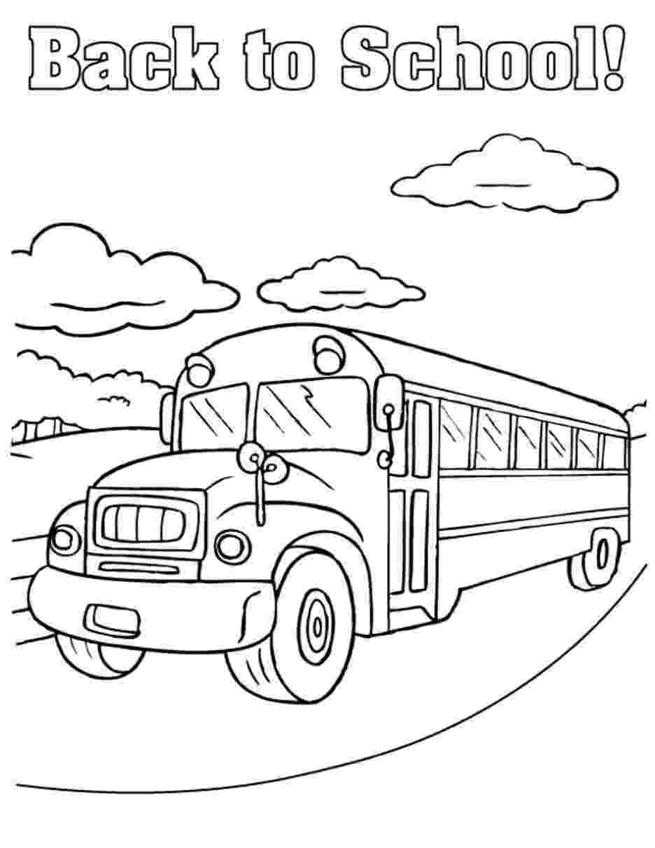 school bus coloring sheet free printable school bus coloring pages for kids sheet coloring bus school 1 1