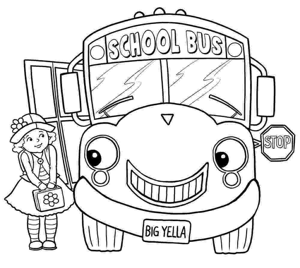 school bus pictures to color school bus coloring pages to download and print for free bus school to pictures color