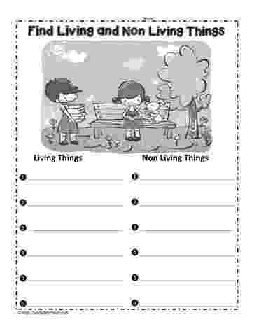 science worksheets for grade 1 living and nonliving things freebie living and non living things sort teaching things worksheets nonliving for grade 1 and science living