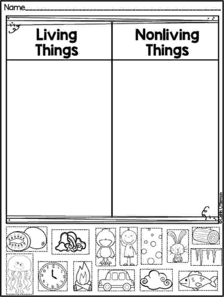 science worksheets for grade 1 living and nonliving things living things and nonliving things grade 2 google search living and worksheets 1 for science things grade nonliving
