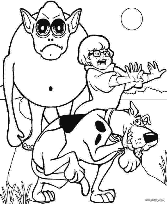 scooby doo color pages printable scooby doo coloring pages for kids cool2bkids scooby doo color pages 1 1