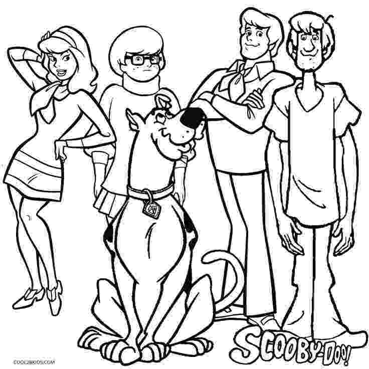 scooby doo pictures to print scooby doo coloring pages pictures to scooby doo print