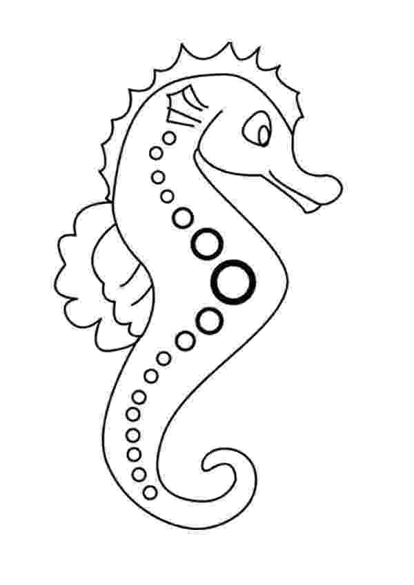 sea horse coloring pages seahorse coloring pages hellokidscom pages sea horse coloring