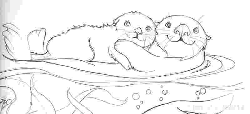sea otter coloring pages otter coloring pages getcoloringpagescom pages sea otter coloring