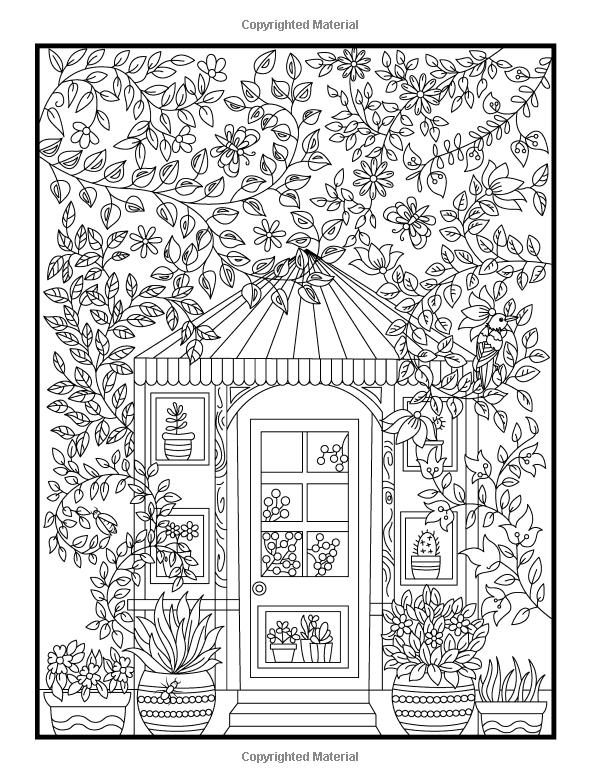 secret garden coloring book animals amazoncom hidden garden an adult coloring book with animals coloring book secret garden 1 1