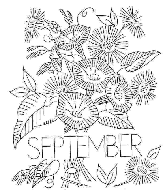 september coloring pages 15 free printable september coloring pages pages september coloring