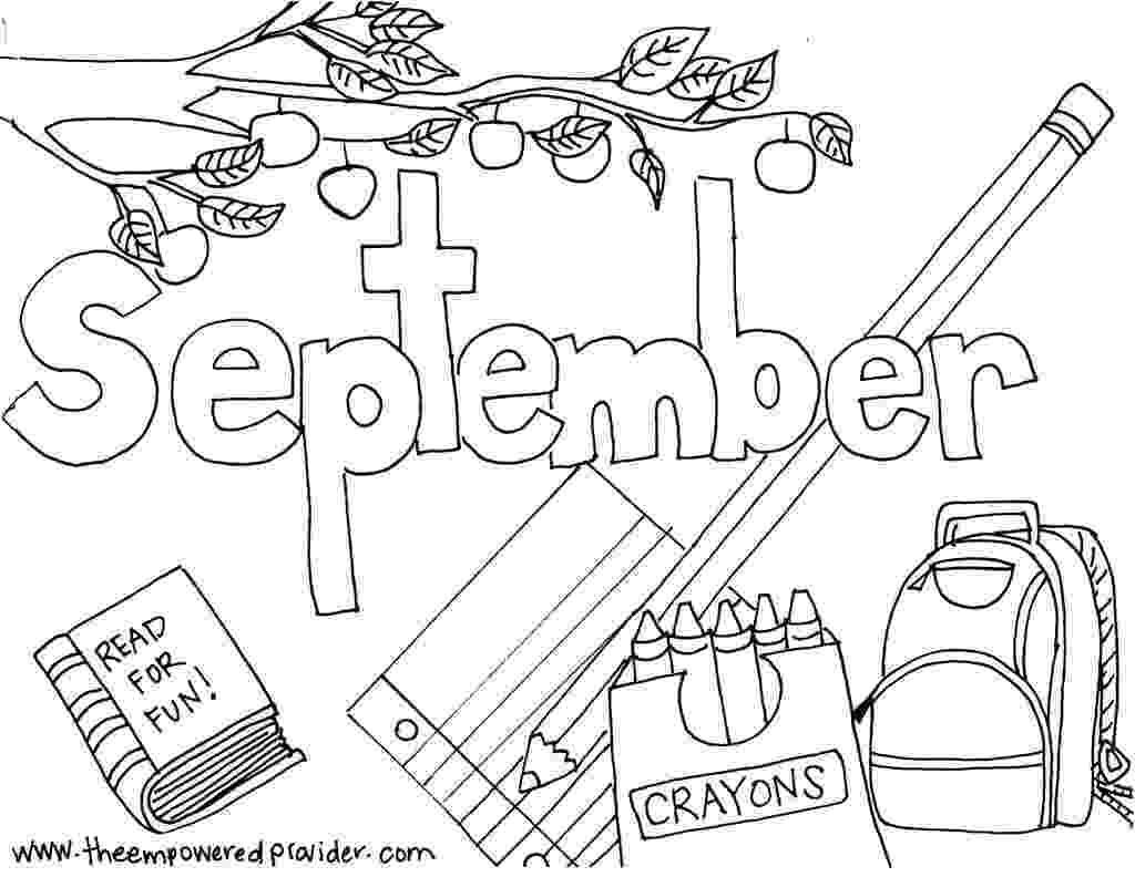 september coloring pages peppy in september coloring page free printable coloring pages september coloring