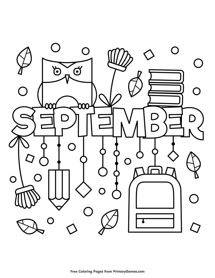 september coloring pages september coloring page psalm 9012 whats in the bible coloring september pages