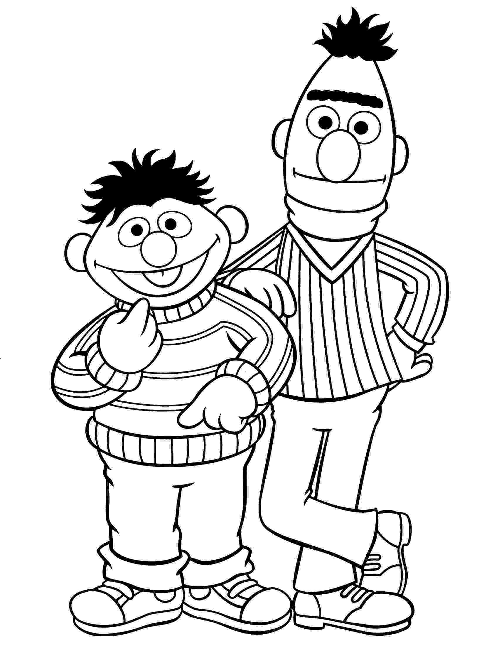 sesame street characters pictures to print printable pictures of sesame street characters coloring home characters to pictures street sesame print