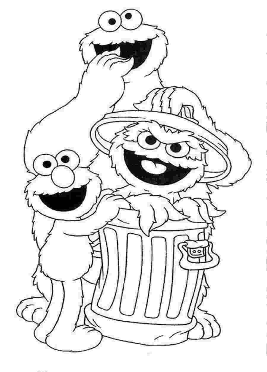 sesame street characters pictures to print sesame street coloring pages getcoloringpagescom pictures sesame to characters street print