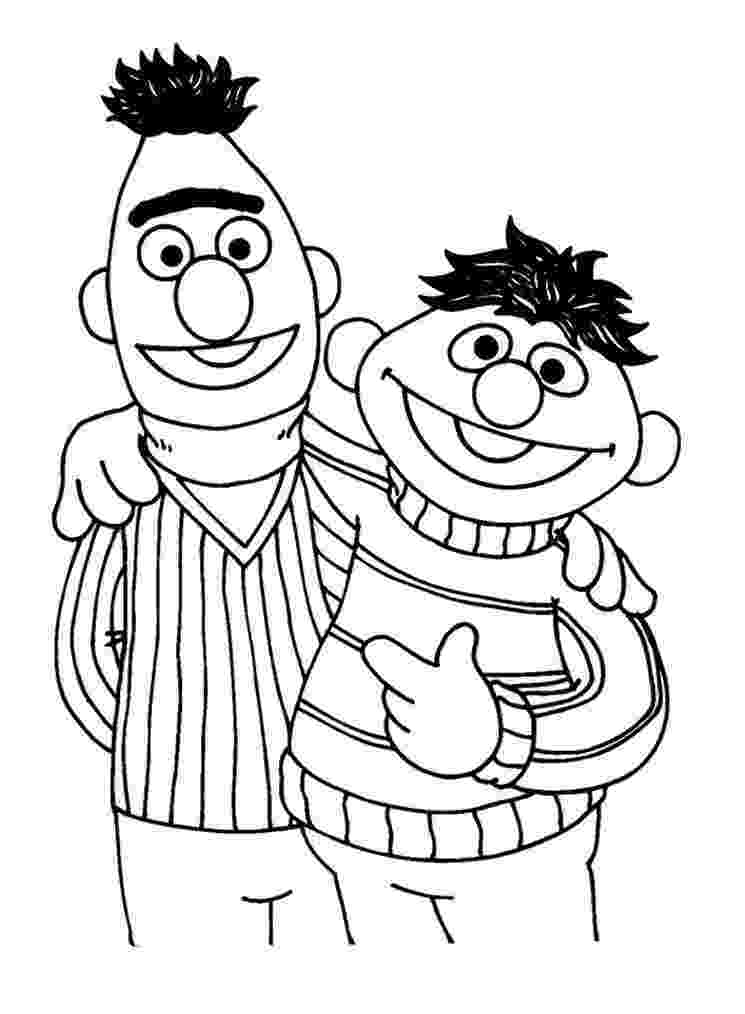 sesame street characters pictures to print sesame street coloring pages getcoloringpagescom print sesame to characters street pictures