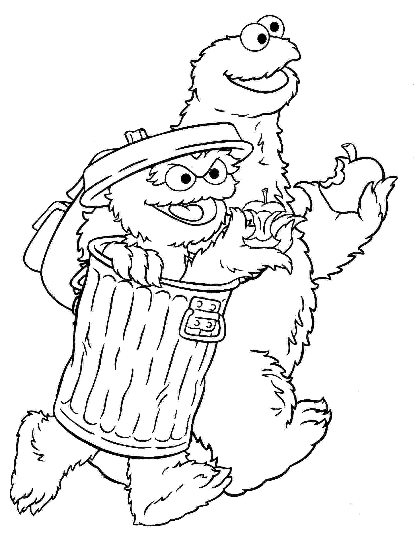 sesame street characters pictures to print sesame street coloring pages minister coloring to street sesame characters pictures print
