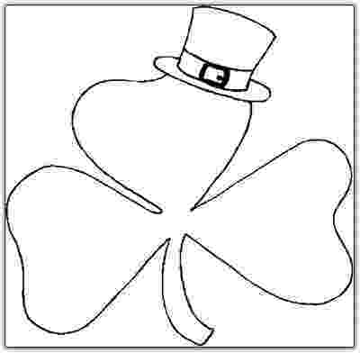 shamrock coloring flower coloring pages for print free world pics shamrock coloring