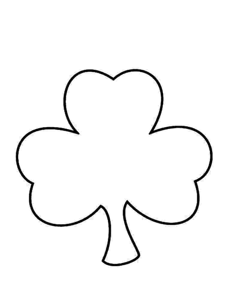 shamrock coloring free printable shamrock coloring pages for kids coloring shamrock