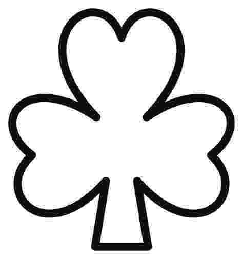 shamrock coloring free printable shamrock coloring pages for kids coloring shamrock 1 1