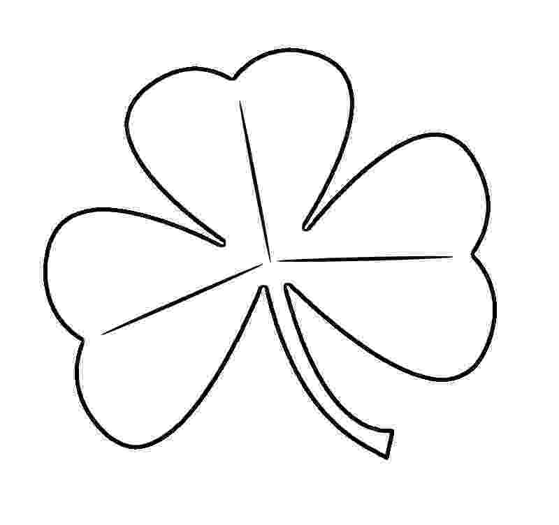shamrock coloring free printable shamrock coloring pages for kids shamrock coloring 1 3