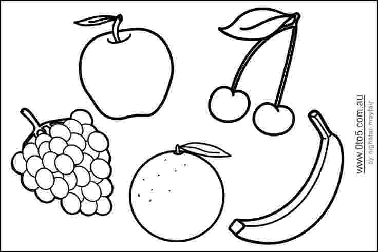 shapes of fruits to color fruittemplateprintable fruit coloring pages applique shapes to fruits of color