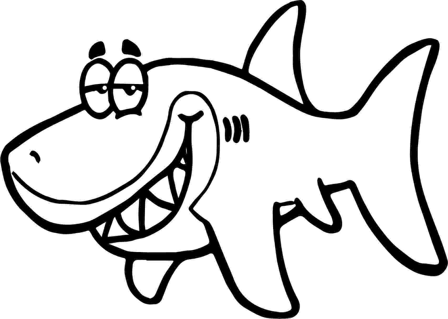 shark picture to color great white shark coloring pages downloadable and shark to color picture