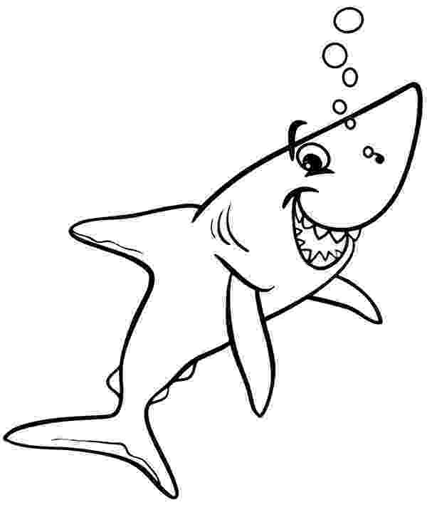 sharks to color big angry sharks coloring pages for kids etk printable sharks to color