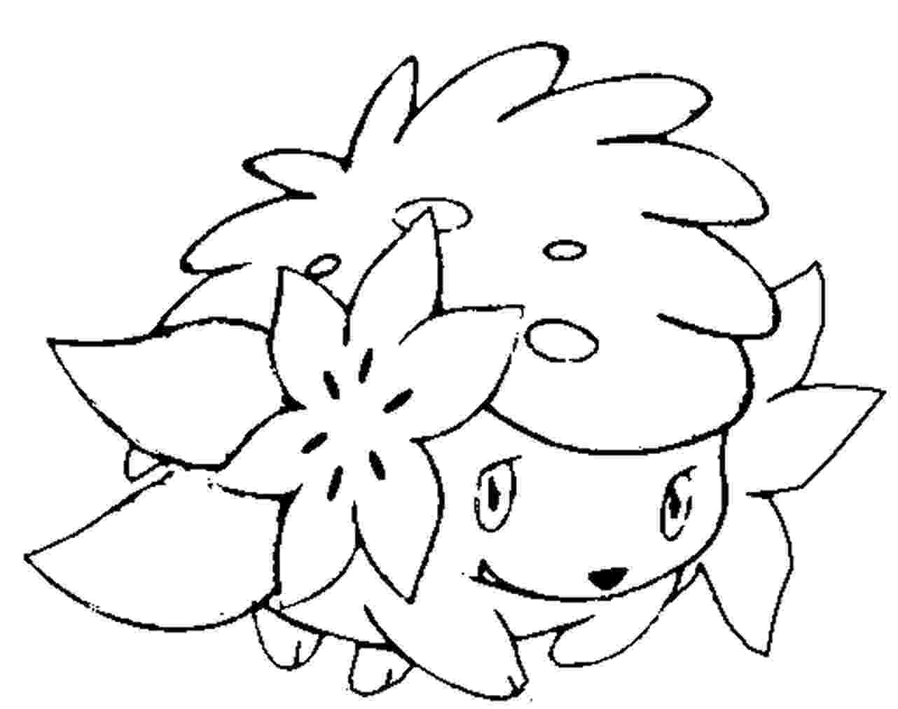 shaymin pokemon coloring pages shaymin in sky form coloring page free printable shaymin coloring pokemon pages