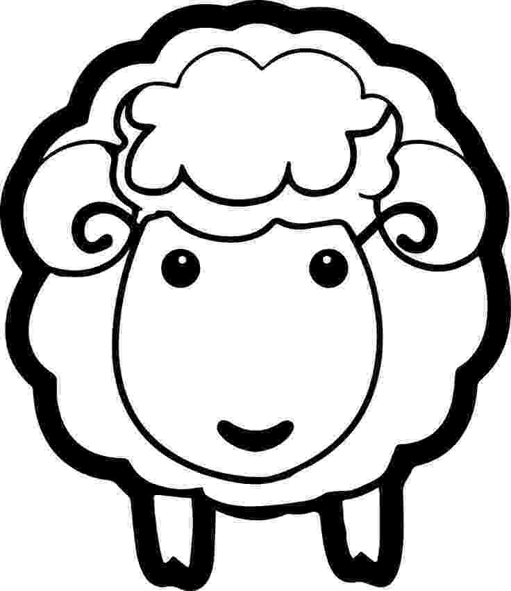 sheep coloring sheet cute baby sheep coloring page hm coloring pages sheep sheet coloring