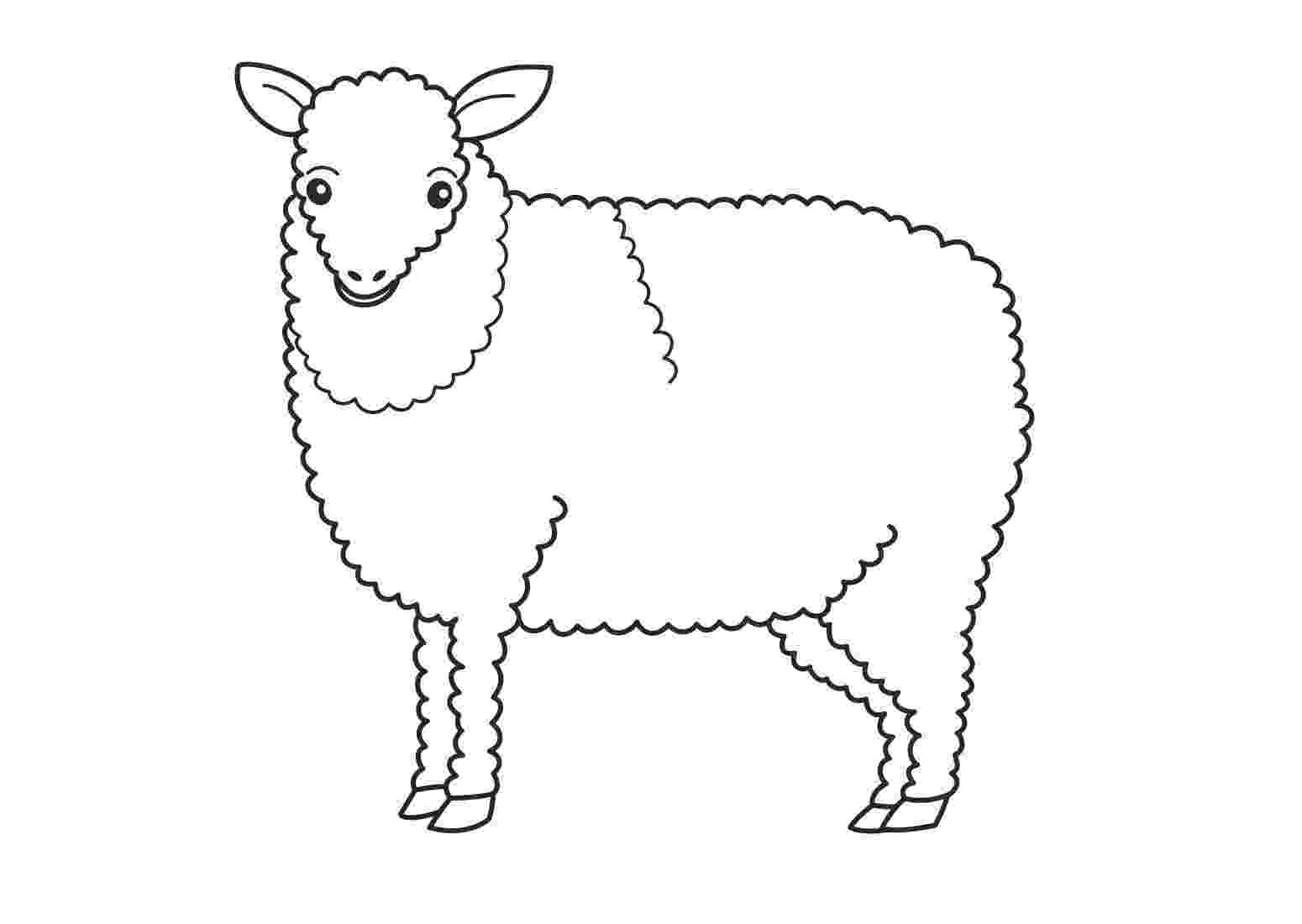 sheep coloring sheet free printable sheep coloring pages for kids coloring sheet sheep 1 1