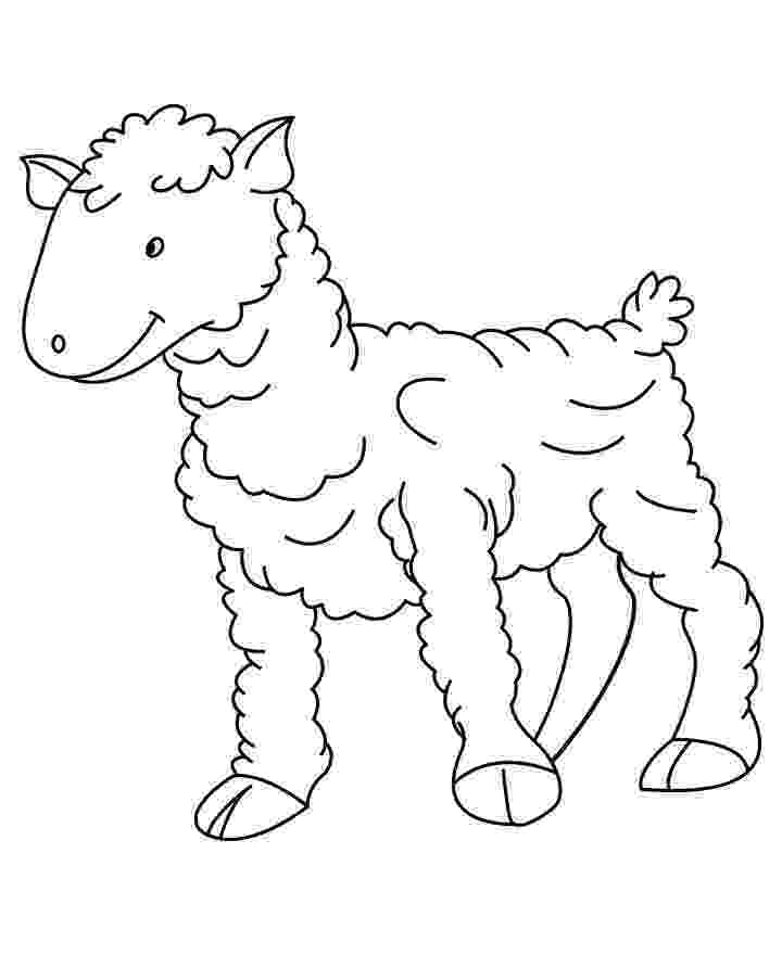 sheep coloring sheet free printable sheep face coloring pages for kids cool2bkids sheet coloring sheep