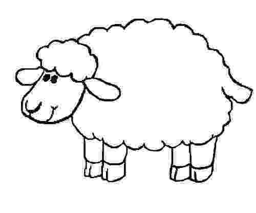 sheep coloring sheet lamb coloring pages getcoloringpagescom sheep sheet coloring