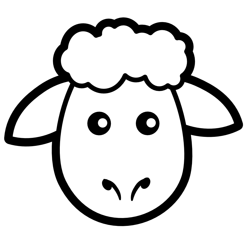 sheep printable free coloring pages of face of sheep sheep face sheep sheep printable