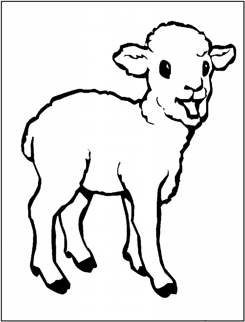 sheep printable printable sheep template jos gandos coloring pages for sheep printable