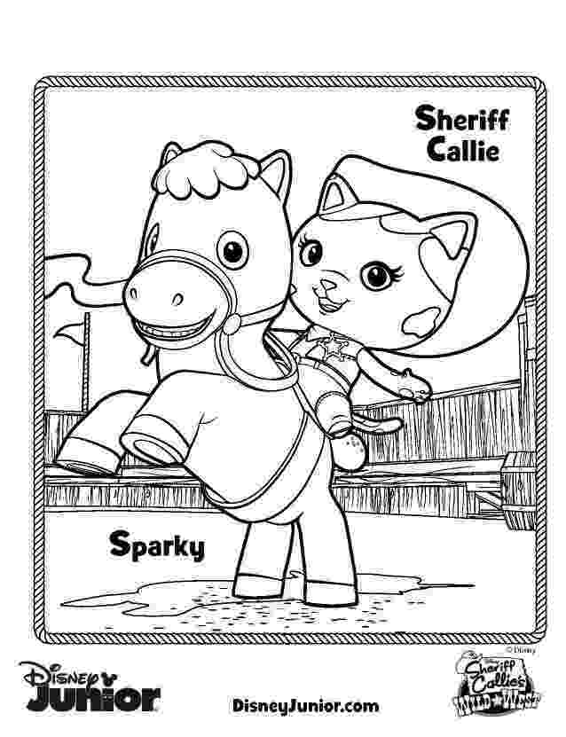 sheriff coloring pages sheriff callie printables sheriff callie39s wild west sheriff coloring pages