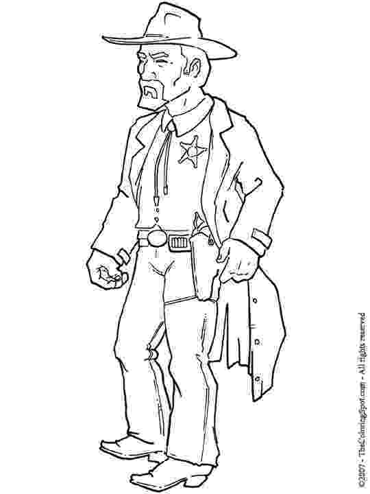 sheriff coloring pages sheriff on motorcycle coloring page free printable sheriff coloring pages