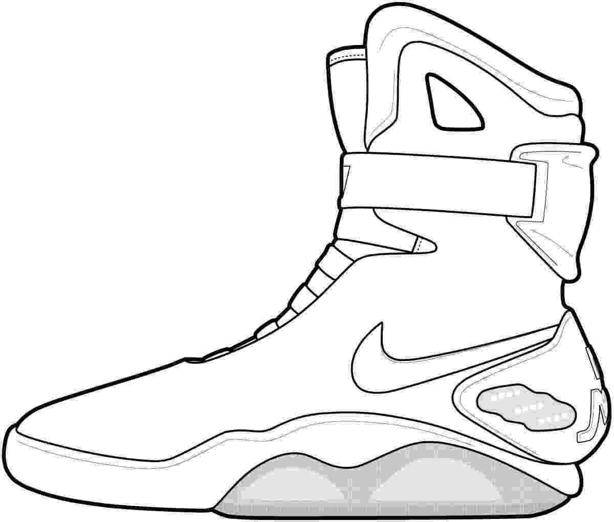 shoes for coloring jordan shoe coloring pages coloring home coloring shoes for