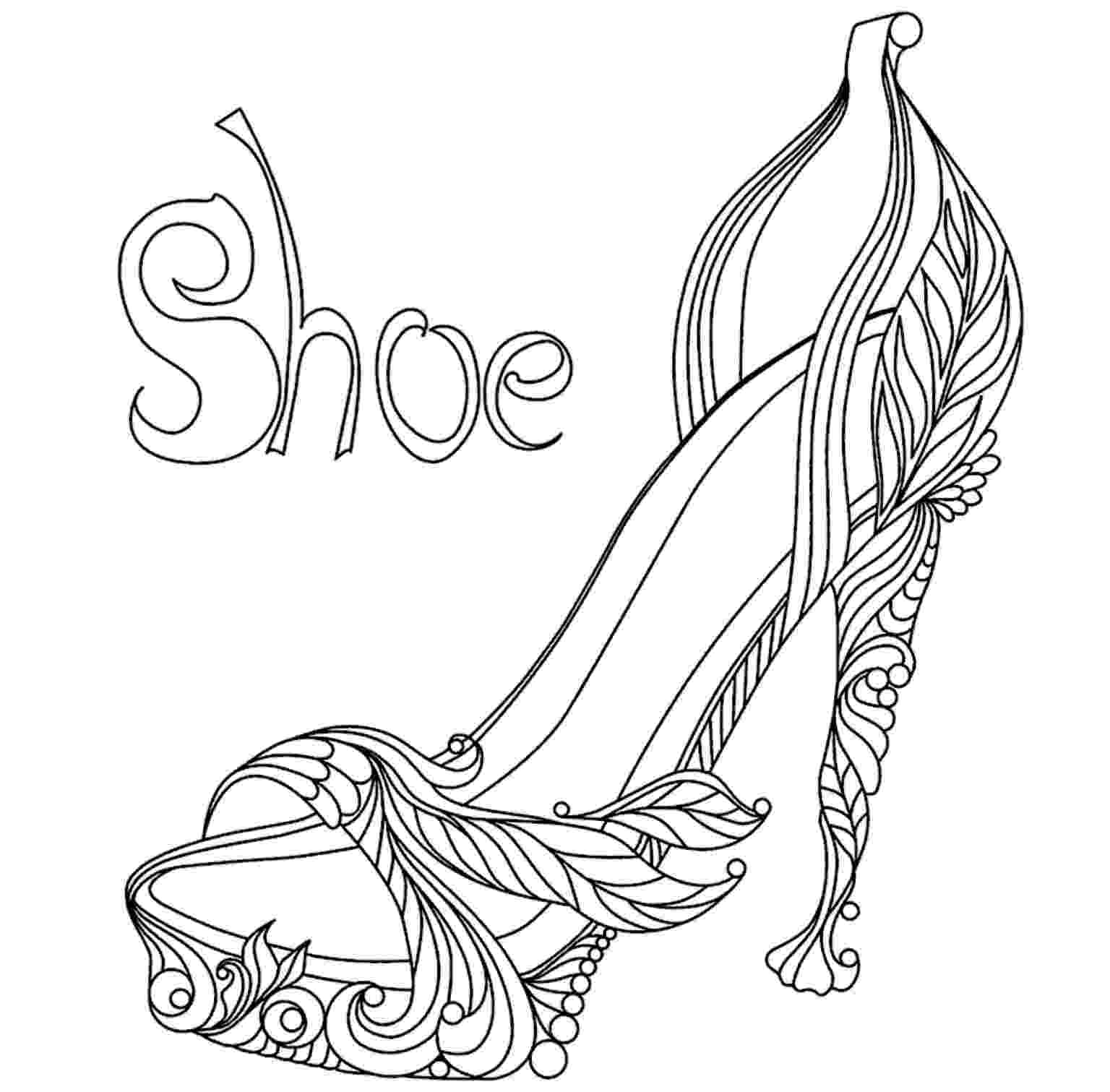 shoes for coloring printable shoe coloring page from freshcoloringcom shoe shoes for coloring