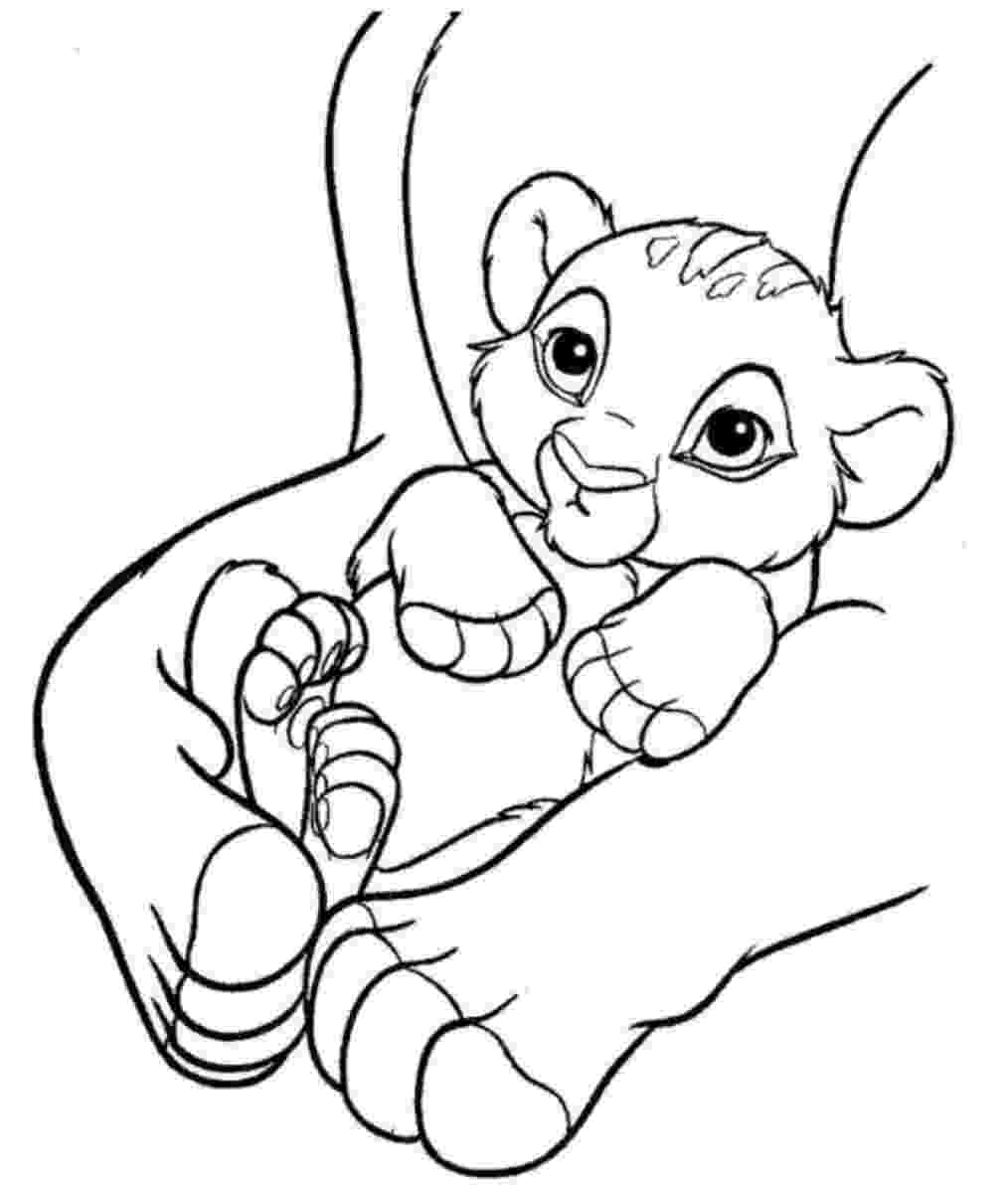 simba coloring page kids coloring pages free download kids online world blog simba coloring page